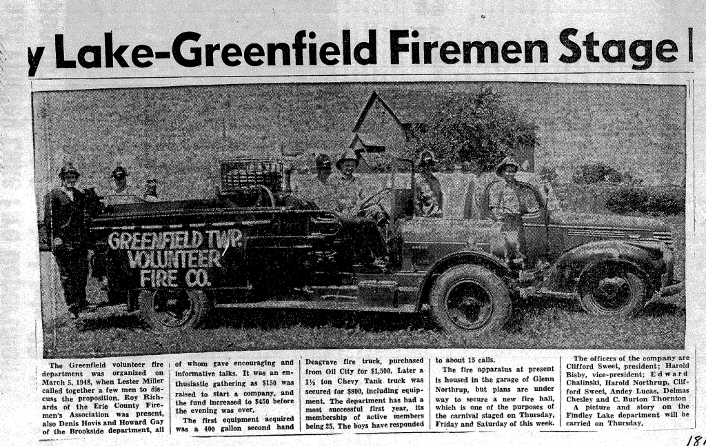 Greenfield Township Fire Department